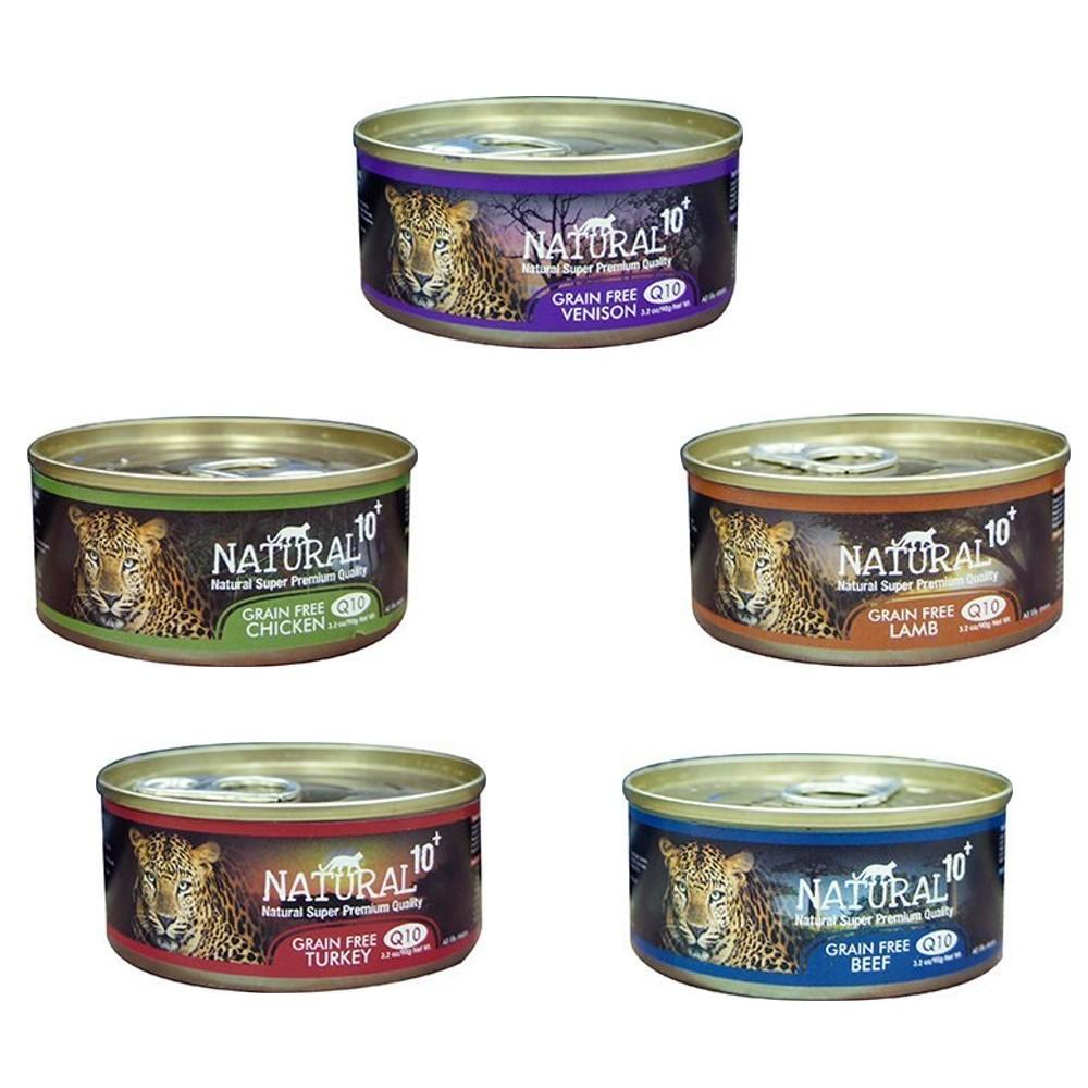 紐西蘭NATURAL10+《原野無穀機能主食罐》90g 12罐