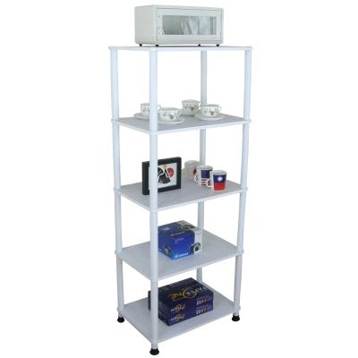 Dr. DIY 寬60公分-五層長管-置物架/電器架(三色可選)