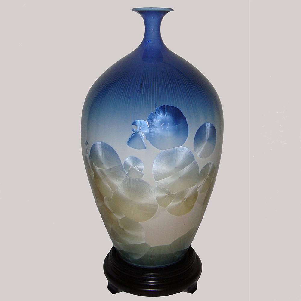 ☆開運陶源☆16 inch晶采富貴 結晶釉瓷器
