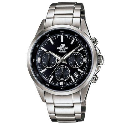 EDIFICE 簡單時尚經典時刻賽車計時錶(EFR-527D-1A)-黑/41mm