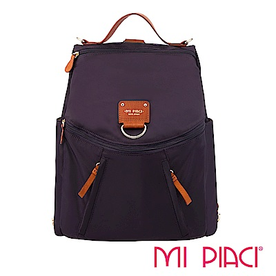 MI PIACI-BELLA系列-兩用後背包-1680617-紫色
