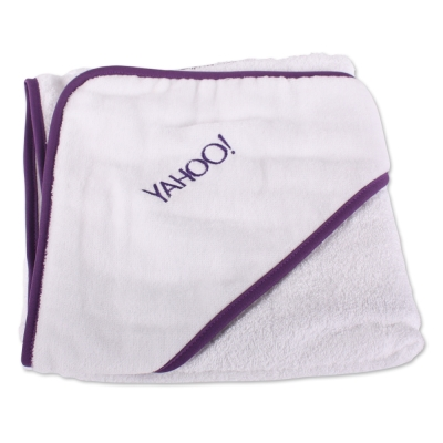 Yahoo! 嬰兒沐浴用包巾