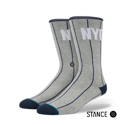 STANCE NY PINSTRIPE-男襪-MLB球隊襪