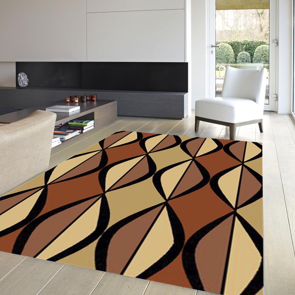 范登伯格 - 戰比壓克力紗地毯系列 - 菱形組合 (200x290cm)