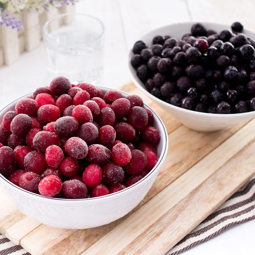 天時莓果 冷凍蔓越莓/藍莓 4包 (400g/包)