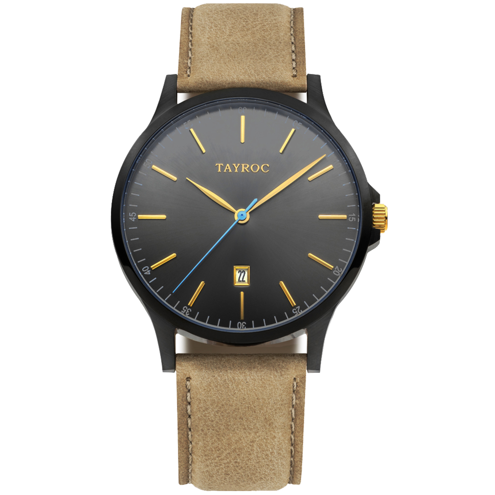 TAYROC 羅霸特一號時尚腕錶(TXM099)-42mm