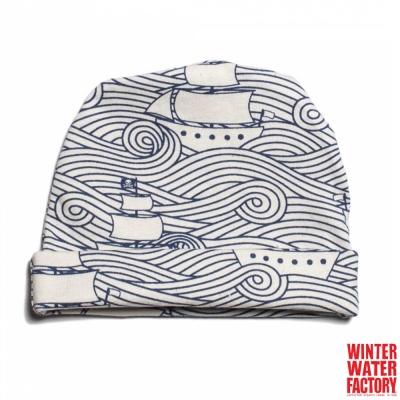 Winter Water Factory 海軍藍帆船寶寶帽
