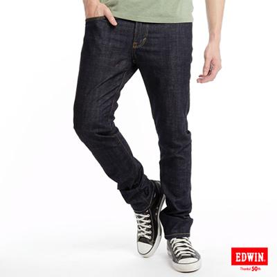 EDWIN-503EDGE伸縮窄直筒牛仔褲-男款-原藍色