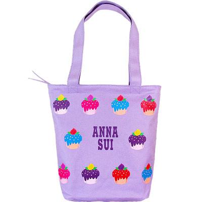 ANNA SUI 安娜蘇 紫戀甜心手提包