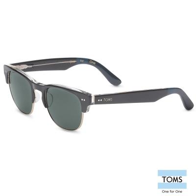 TOMS LOBAMBA 極致典雅黑色半框款 太陽眼鏡-中性款 (S007-036-03)