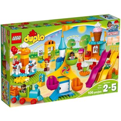 LEGO樂高 得寶系列 10840 大型遊樂園