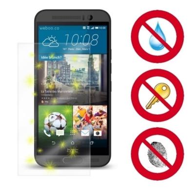 D&A HTC One M9+ (5.2吋)電競專用玻璃奈米5H↗螢幕保...