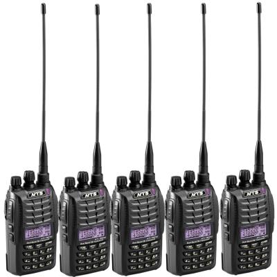 MTS TW2VU 雙頻雙顯示無線電對講機(超值<b>5</b>入組合)