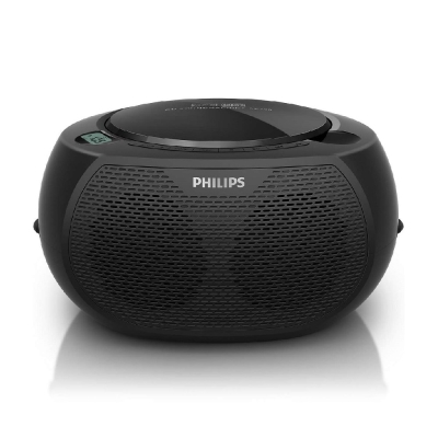 PHILIPS飛利浦USB手提CD音響黑旋風AZ380