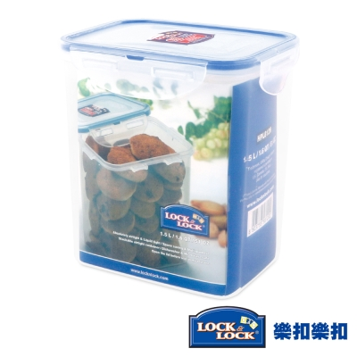 樂扣樂扣CLASSICS系列PP高桶保鮮盒-長方形1.5L(8H)