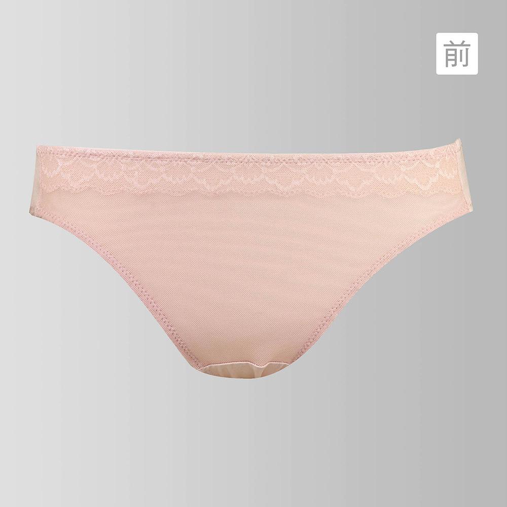 蕾黛絲-經典無痕小妹大 M-EL低腰褲(自然裸)