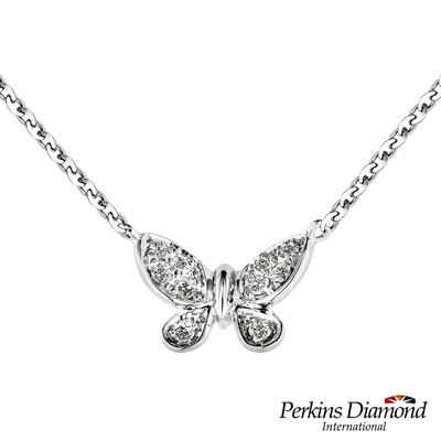 PERKINS 伯金仕 Butterfly系列 鑽石項鍊