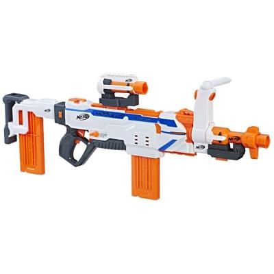 孩之寶Hasbro NERF系列 兒童射擊玩具 自由模組系列 三重射控連襲