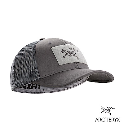 Arcteryx 始祖鳥 LOGO棒球帽 機長灰