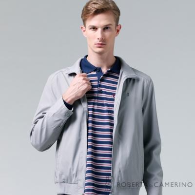 ROBERTA諾貝達-休閒百搭-輕薄休閒夾克外套-淺灰