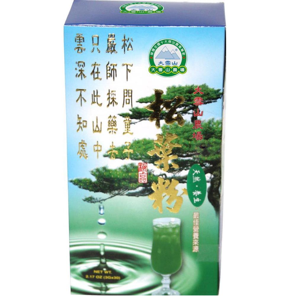 大雪山農場 松葉茶粉(30包x2盒)