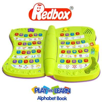 Redbox  寶寶字母學習書