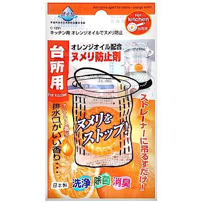 不動化學 橙油廚房排水孔清潔錠(16.5g)