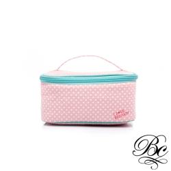 BELLUCY 點點系列-飾品收納化妝包(粉)