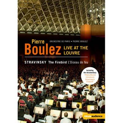 羅浮宮的火鳥  向布列茲致敬-法國羅浮宮博物館音樂會 DVD