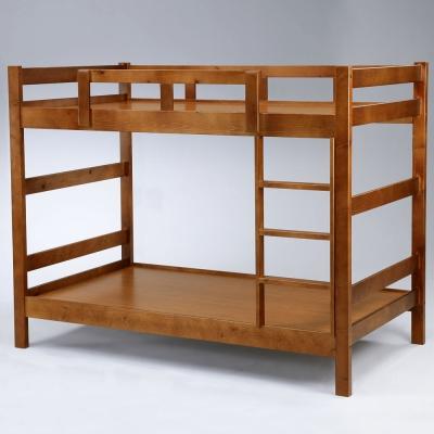 Homelike 莫爾3.5尺雙層床 淺胡桃色