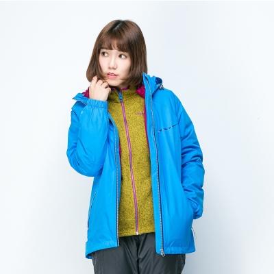 歐都納 GORE-TEX 女款防水二件式羽絨外套 A-G1529W 亮藍