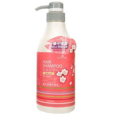 【Living type】櫻花修護洗髮乳(500ml)