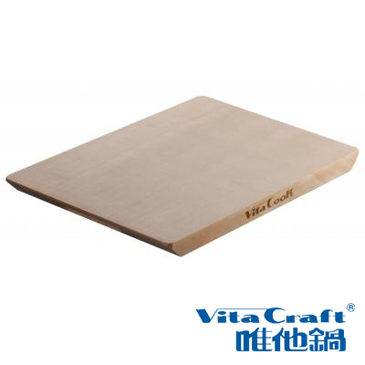 VitaCraft唯他鍋-NuCook雲杉原木砧板(大)