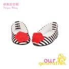 美國【our generation】斑馬紋包鞋 (3Y+)
