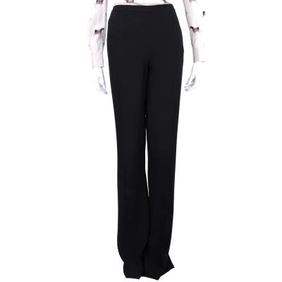 PHILOSOPHY 黑色燙折寬管設計西裝長褲
