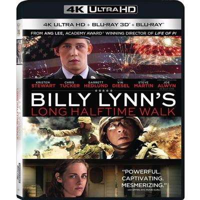比利 林恩的中場戰事 (UHD+3D+2D) 藍光 BD