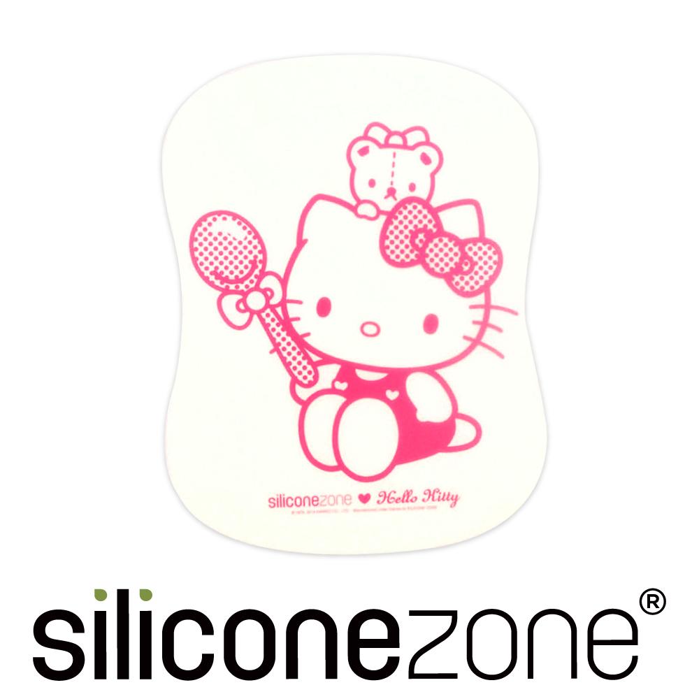 Siliconezone 施理康Hello Kitty廚房料理耐熱軟式覘板墊-粉色