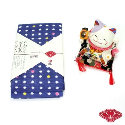 JS 日本製純棉長巾-雛豆 34x90