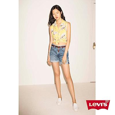 牛仔短褲 女款 不收邊 - Levis- 動態show