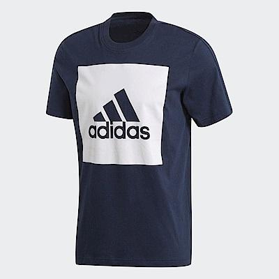 adidas Logo 短袖上衣 男 S98726
