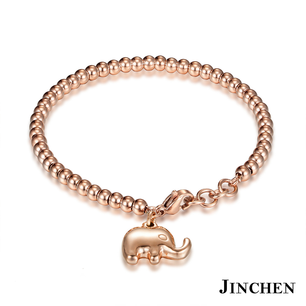 JINCHEN 白鋼大象手鍊 product image 1