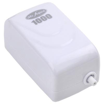 《Mr.Aqua》單孔1000型密閉式節能省電靜音打氣馬達(送矽膠軟管)