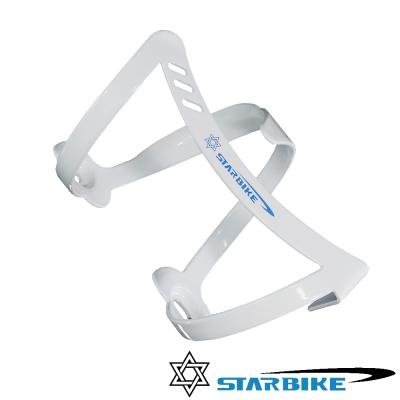 STARBIKE 時尚輕量 典雅前衛 側開好取水壺架(白)