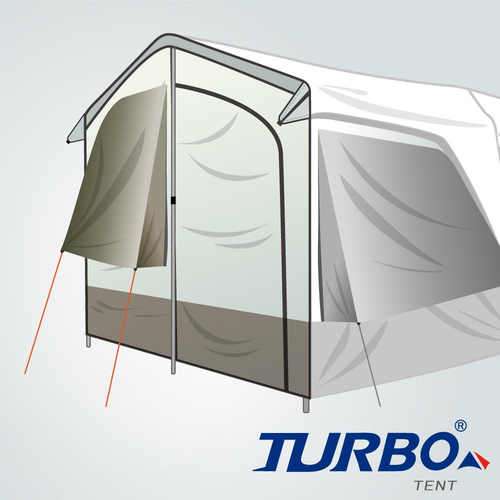 【Turbo Tent】Lite 270 配件2-前門片(2代)