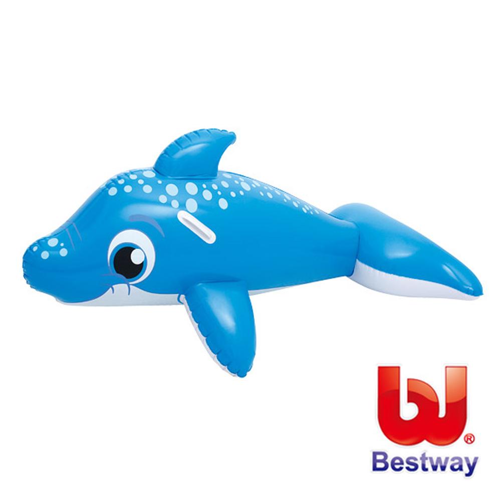 《凡太奇》美國品牌【Bestway】可愛充氣海豚坐騎