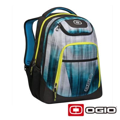 OGIO TRIBUNE 17 吋司令官電腦後背包-流水藍