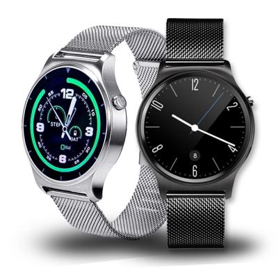 SAMGO S 3 + 經典米蘭尼斯金屬鍊帶通話手錶