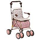 (樂齡網)Tacaof幸和雅緻仕女購物散步車SIST01(粉紅)