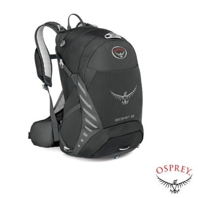 美國-OSPREY-新款-Escapist-25-單車健行背包-黑-R