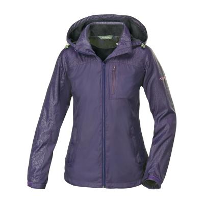 ATUNAS 歐都納 女款超輕抗水天鵝絨外套 A-G1556W 深紫